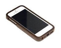 T4C bois véritable noyer Étui iPhone 5 Bois Etui protecteur de case