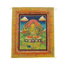 TARA PEINTURE SUR BOIS TIBETAINE NEPAL TANGKA 5337