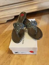 Womens Ramon DOLLY Evening Shoes with Crystal size 10, NEW