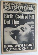 August 2, 1965 MIDNIGHT - Stella Stevens, Birth Control Pill, Linda Veras, etc.