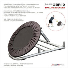 "2017 NEW Body-Solid GBR10 Medicine Ball Rebounder 30"" Adjustable 30 to 60 degree"