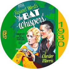 "The Bat Whispers  (1930) Classic Thriller and Horror ""B"" Movie DVD"