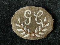 WW1 GC Embroidered Cloth Trade Patch Badge New Old Stock British Army Military