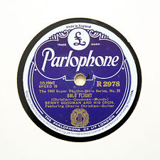 "BENNY GOODMAN & HIS ORCHESTRA ""Solo Flight"" PARLOPHONE R-2978 [78 RPM]"