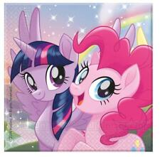 My Little Pony Pack Of 20 Party Napkins Tableware Rainbow Dash Fluttershy