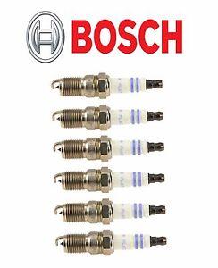 Buick Chevrolet Ford Mazda Mercury Pontiac Set of 6 Spark Plugs Bosch Platinum