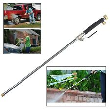 WATER JET POWER WASHER PRESSURE WATER NOZZLE LANCE FOR GARDEN HOSE