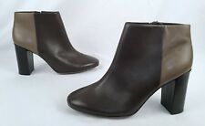 d70dcff2dd66 TORY BURCH Two Tone Ankle Leather Booties - Size 11 M-  259