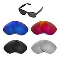 Walleva Replacement Lenses for Ray-Ban Wayfarer RB2132 52mm-Multiple Options