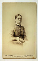 Antique Carte de visite CDV C W Smartt Leamington, Ivy Cottage Stratford on Avon