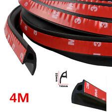 "4M 160"" P-shape Car Window Door Rubber Seal Weather Strip Hollow Weatherstrip"
