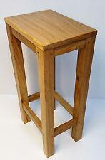 Cambridge Solid Oak Stool | Dining Seat | Kitchen Bar Stool