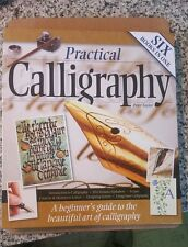 2010 HC Practical Calligraphy Lettering Beginners Guide Book Peter Taylor LN