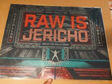 Raw Is Jericho Holographic Poster WWE Wrestling print Chris Jericho WWF 24x18