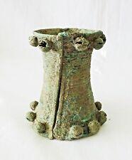 Prehistoric Thai Ban Chiang Bronze Sleeve Bell Bracelet (Mil)