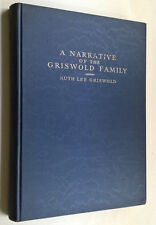 Griswold Family Genealogy Cast iron pan Local Family History United States