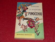 C.COLLODI / LE AVVENTURE DI PINOCCHIO Illustré Attilio MUSSINO Ed.1961 Bemporad