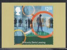 "Great Britain ""Shikasta"" by Doris Lessing Royal Mail Stamp Card"