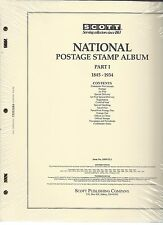 SCOTT US National Stamp Album Collection Pages Supplement 1977-1993 PT 3 100ntl3