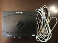 Creative EMU E-MU 0204 USB 2.0 Audio Interface/Sound Card
