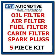 Ford Focus1.4,1.6 Petrol 98-04 Plugs,Fuel,Air,Cabin & Oil Filter Service Kit f8p