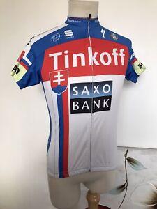 Tinkoff Saxo Bank. Sportful Cycling Shirt. Adults XS.