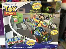 Disney's Toy Story Rc'S Race Gear Gas And Go Play Set