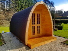 HotTub-direct Camping Pod 2 rooms and terrace Glamping Pod Log Cabin