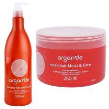 Friseur Salon Shampoo mit Arganöl Haarmaske strapaziertes trockenes Haar Maske