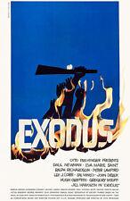 Exodus - 1960 - Movie Poster