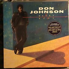 DON JOHNSON • Heart Beat • Vinile Lp • 1986 EPIC
