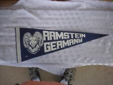 Vintage Ramstein Germany Pennant