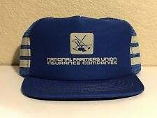 Vintage National Farmers Union Insurance Trucker Hat