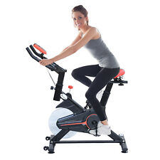 Indoor Cycling Bike Upright Exercise Bicycle Cardio Workout Fitness Equipment