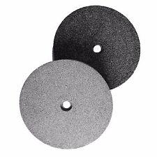 """Bench Smerigliatrice Disco di ricambio 150mm/6"""" A36 & A80 Grit dischi macinazione Officina 9a"""