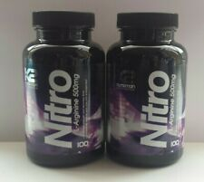 STRONGEST L ARGININE NITRIC OXIDE BOOSTER X 200 CAPSULES / TABLETS + 25% FREE ✴✴