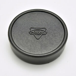 Rare Minolta SR Mount Push-On Rear Lens Cap MC MD Rokkor (#3532)