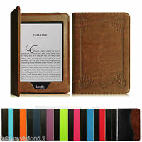 "For 2012 2013 2014 & 2015 2016 All-New Kindle Paperwhite 6"" Leather Case Cover"