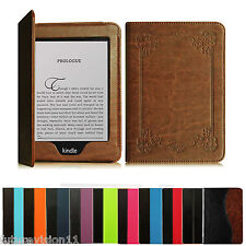 """For 2012 2013 2014 & 2015 2016 All-New Kindle Paperwhite 6"""" Leather Case Cover"""