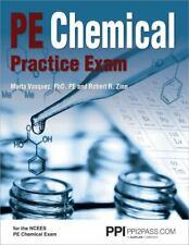 Pe Chemical Practice Exam, Paperback by Vasquez, Marta, Ph.D.; Zinn, Pass Exam