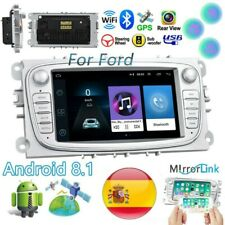 """7"""" Android 8.1 Autoradio WIFI GPS For Ford Focus C/S-max Kuga Mondeo Galaxy"""