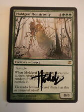 Moldgraf Monstrosity Signed by Thomas Jedruszek Magic the Gathering