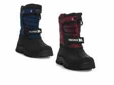 Trespass Kukun Youths Waterproof Loop Fastening Winter Snow Boots