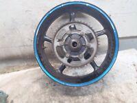 2003 Yamaha YZF R6 YZF YZFR6 Rear Wheel Cush Drive Rotor Axle Straight