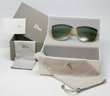 Christian Dior So Electric MY2DJ 58 Gold Black Green New Authentic MY2