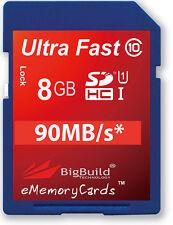 8GB Memory card for Panasonic Lumix DMC-FZ150 Camera | Class 10 SD SDHC New