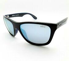 Revo Otis Black Blue Water Polarized New Sunglasses Authentic