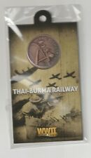 Australia- WW2 Thai-Burma Railway Penny -in card as issued