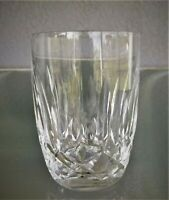 """12oz Waterford Kildare Double Old Fashioned Glass Tumbler Crystal 4 1/2"""""""