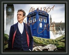 DOCTOR WHO - PETER CAPALDI - A4 SIGNED AUTOGRAPHED PHOTO POSTER FREE POST